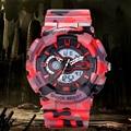 Top Marca Men Sports Relógios LED Relógio Digital relógios de Pulso Relogios masculinos dos homens de Moda Ao Ar Livre Militar À Prova D' Água 2016