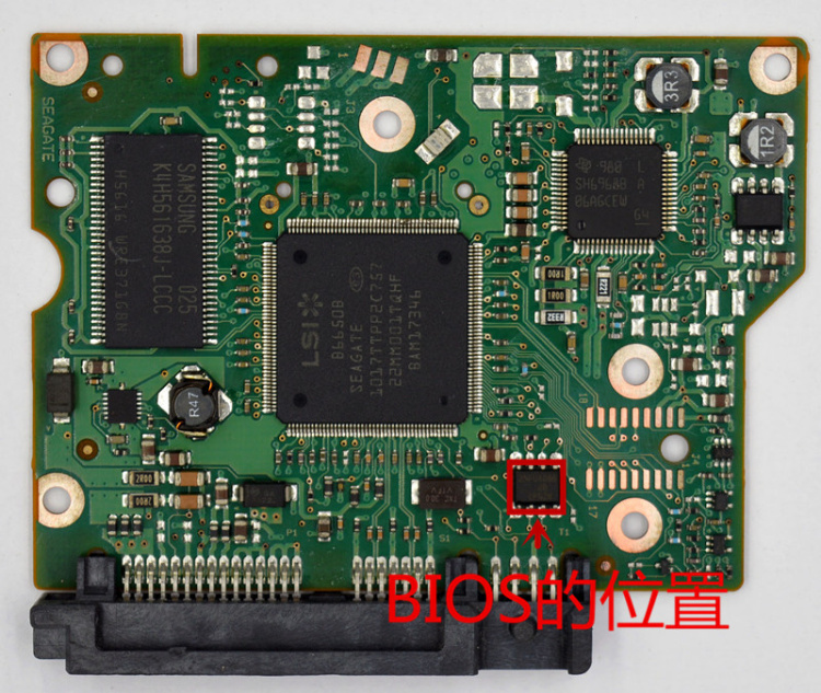PCB 100603204 REV A / B for desktop hard drive ST1000DL001 ST2000DL001 3.5 PCB HDD / logic board