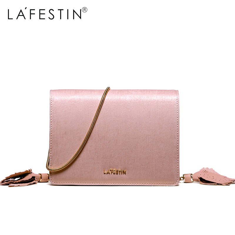 Detail Feedback Questions about LAFESTIN Brand Bags Women Shoulder Bag  Fashion Metal Chain Strap Crossbody Bag 2018 New Designer Messenger Bag  bolsas ... a7af410ac421