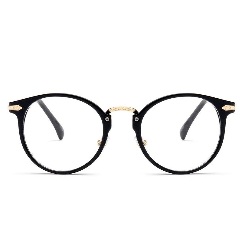 2016 Unid moda mujer estilo gafas montura completa diseño redondo ...
