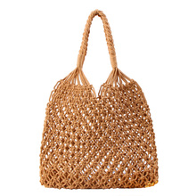 Straw Cotton rope beach bag summer crossbody bags for women 2019 handmade brand shoulder messenger shopping bag women bag straw cotton rope beach bag summer crossbody bags for women 2019 handmade brand shoulder messenger shopping bag women bag