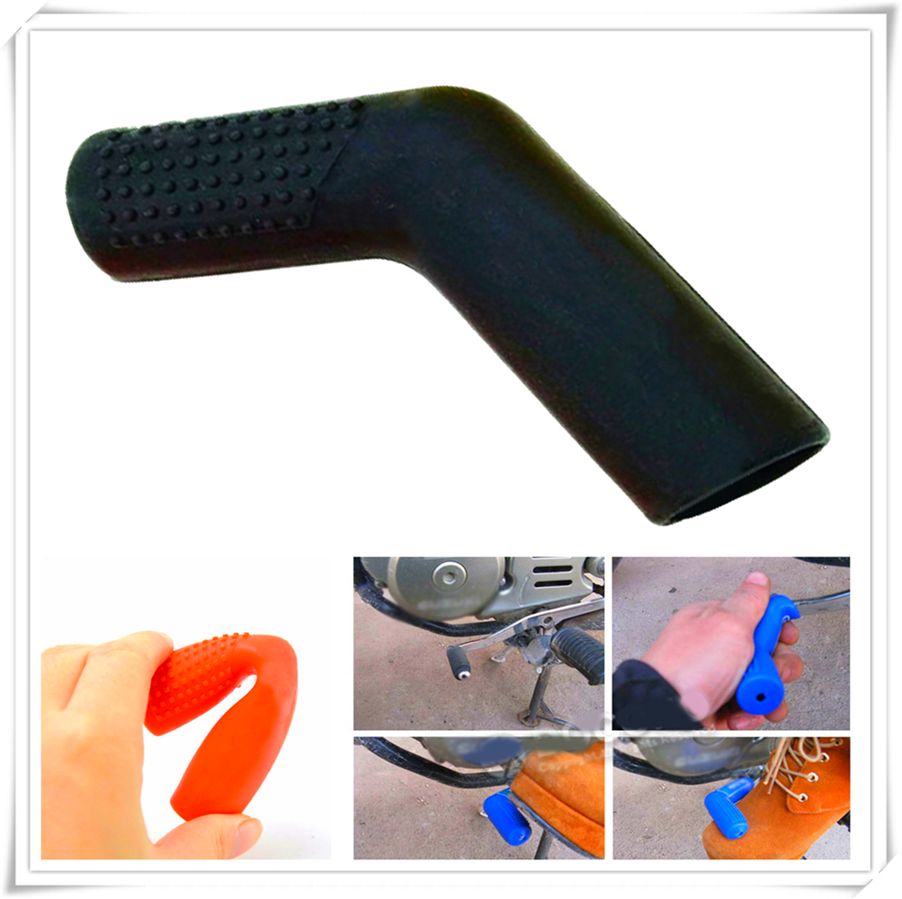 Motorcycle dirtbike Gear Shift Shifter Shoe Case Cover Protector For KTM Bajaj PulsaR <font><b>200</b></font> <font><b>NS</b></font> 1190 AdventuRe R 1050 RC8 Duke image