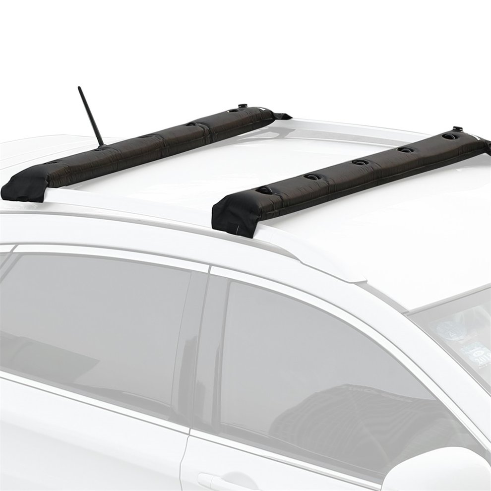 Durable Universal Adjustable Car Roof Rack Box Pads Inflatable Padded Crossbar Roof Cover Luggage Carrier Protective Car Racks