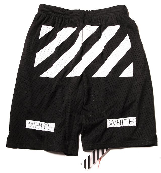 a5974ac9 2014 customer made Hiphop women mens unisex Mid Loose Drawstring VIRGIL  ABLOH off white Shorts Free shipping