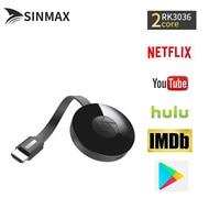 TV Stick For Netflix YouTube Crome Chrome Cast Cromecast For Better G2 Miracast Google Chromecast 2