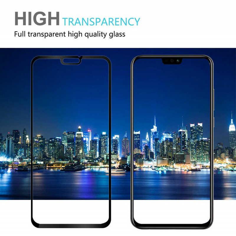 9D Toughed Kaca Pelindung untuk Huawei P30 Lite P20 Pro P9 Anti Gores Smartphone Screen Protector untuk Huawei P pintar PLUS