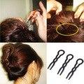 3 pcs Mulheres Simples Rápida Espiral Cabelo Trança Torção Styling DIY Conjunto Formal de Ferramentas de Estilo de Cabelo Ferramenta de Beleza Para O Cabelo acessório