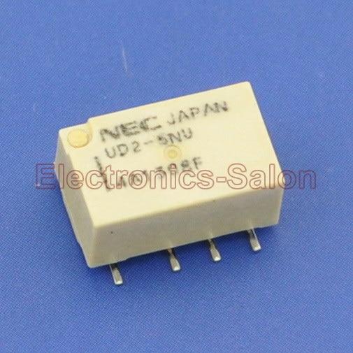 ( 2 Pcs/lot ) UD2-5NU SMD Signal Relay,DC 5V,Ultra-miniature Flat,DPDT/2 Form C