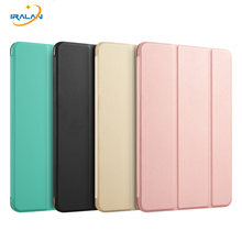 PU Leather Ultra Slim Case For Xiaomi Mipad 1 7.9 inch Light Weight Hard PC Back Smart Cover for xiaomi Mi Pad 1+Stylus Pen+film(China)