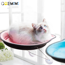 Hot Sale Cat Hammock Bed Mount Window Shape Warm For Pet Rest House Soft And Comfortable Ferret Cage