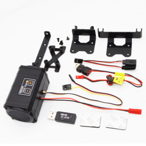 Image 2 - Sense Innovations ESS DUAL 2 SPEAKERS Engine Sound Simulator For RC Car Axial SCX 10 II WRAITH Traxxas TRX4