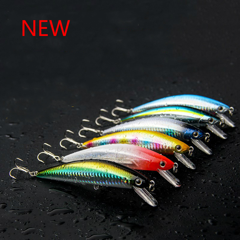FJORD Hot Sale Quality 125mm 40g Fishing Lure Minnow Laser Hard Professional Baits Swim Bait Artificial Baits Equipped VMC Hooks