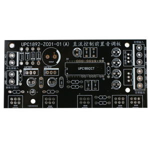 Image 4 - GHXAMP ハイファイ UPC1892 プリアンプ基板の Diy キットフロントトーン制御ボード 2.0 バランスカーオーディオ修正 1 pc