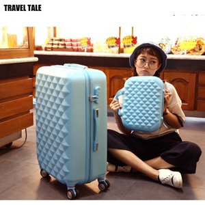 Image 4 - TRAVEL TALE girls cute trolley luggage set ABS hardside cheap travel suitcase bag on wheel