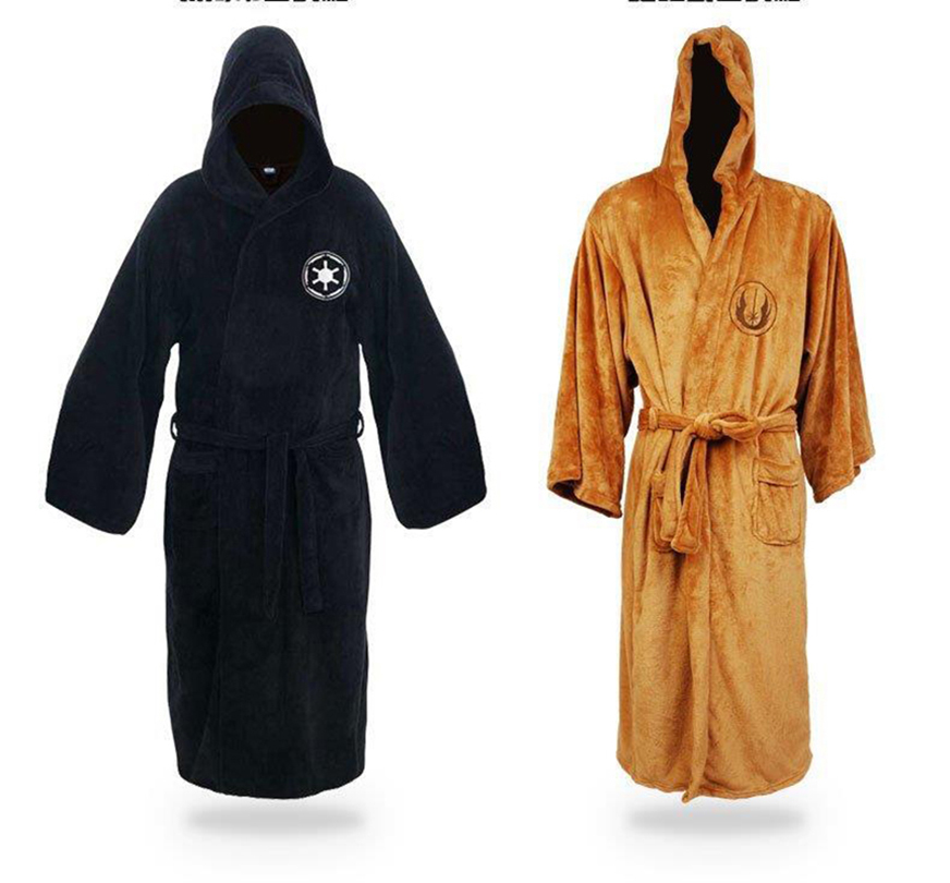 ac799436f6 Detail Feedback Questions about Star Wars Robe Bathrobe Darth Vader Coral  Fleece Terry Jedi Adult Bathrobe Robes Cosplay Costumes Star Wars Jedi Sith  Dart ...