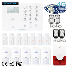 HOMSECUR Wireless 4G GSM Home Security Alarm System For Elderly Daily Life Care GA01 4G W