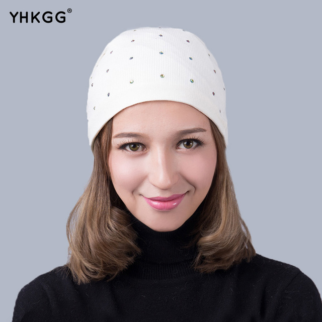 2016 New Unisex  Cotton SoftHat Cap Winter  Hats Beanies Accessories Unisex  Winter Warm Hat Knitted Cashmere