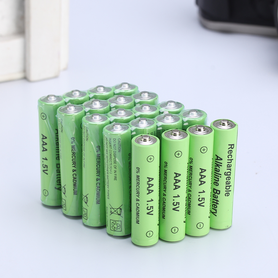 20 pcs brand new aaa alkaline battery 1 5 v rechargeable. Black Bedroom Furniture Sets. Home Design Ideas