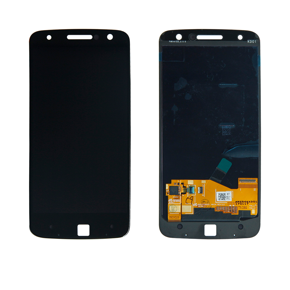 Free Shipping For Moto Z Droid XT1650-01 XT1650-03 Touch Screen Digitizer Lcd Display Assembly Mobile Phone Panel Replacement