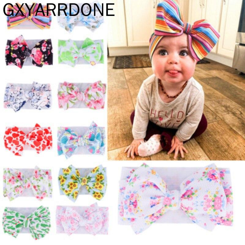Baby Headband Baby Girl Headbands For Girls Bandeau Bebe Fille Baby Hair Accessories Baby Turban Bows Newborn Headband Headwrap