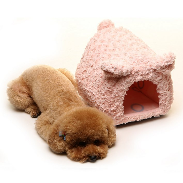 Cerdo de peluche Mascota Perro de la Casa Para Cachorros 01.3.081 Marca Pequeños