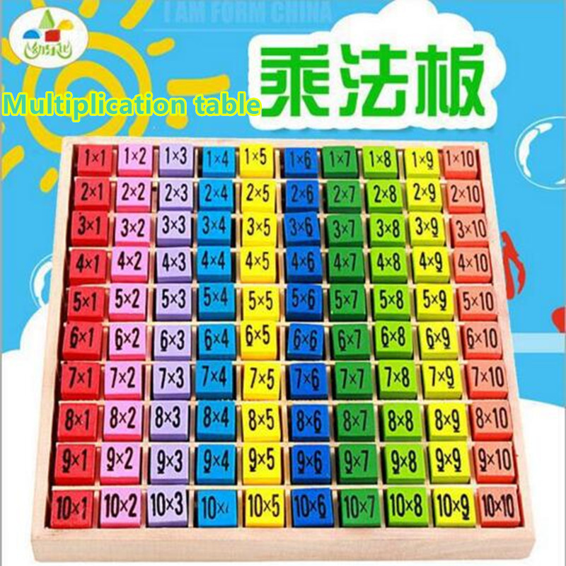 2017 new early educational toys 99 multiplication table for Multiplication table to 99