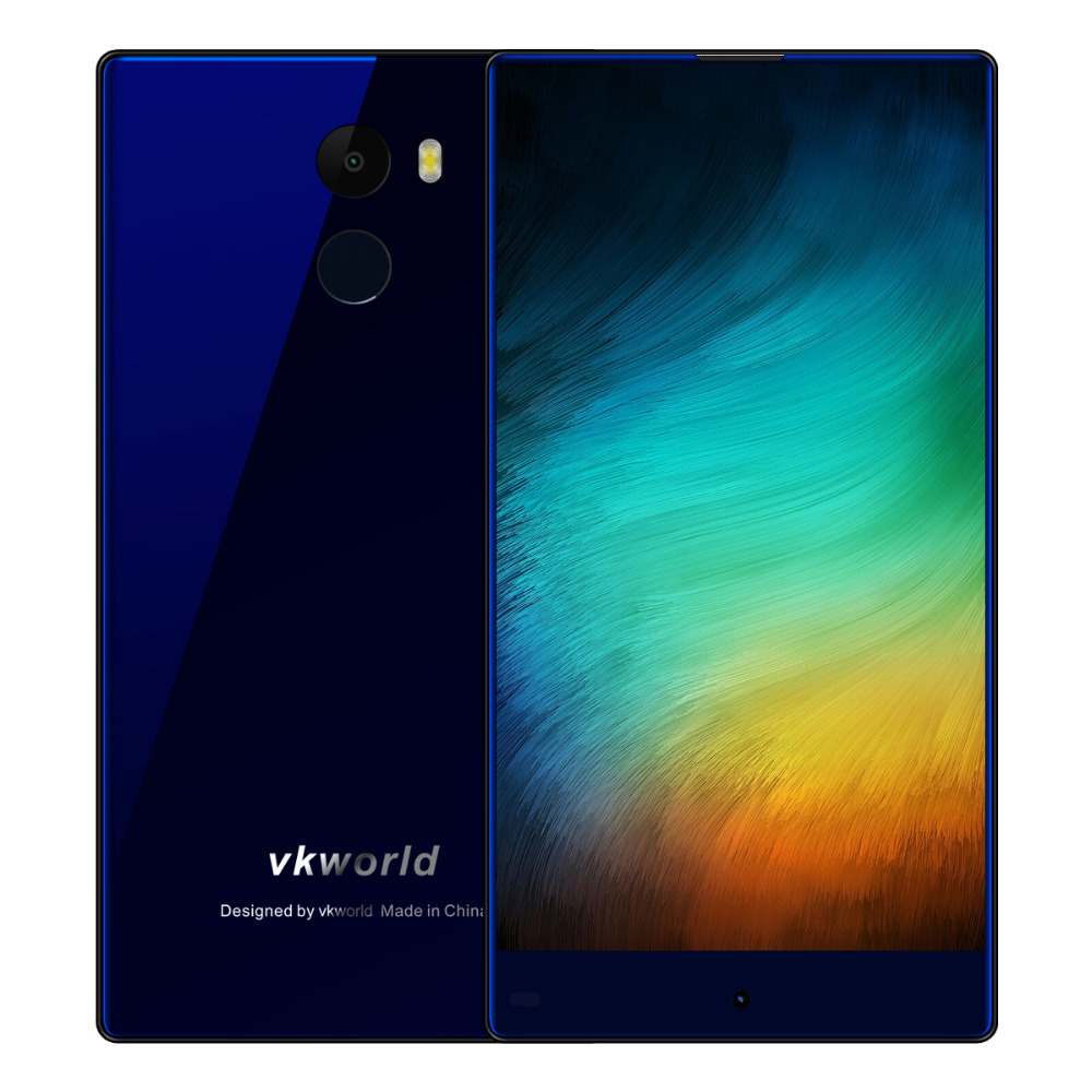 5 5Inch Vkworld Mix Plus 4G LTE Android Smartphone MTK6737 3GB 32GB Bezel less Screen 13MP