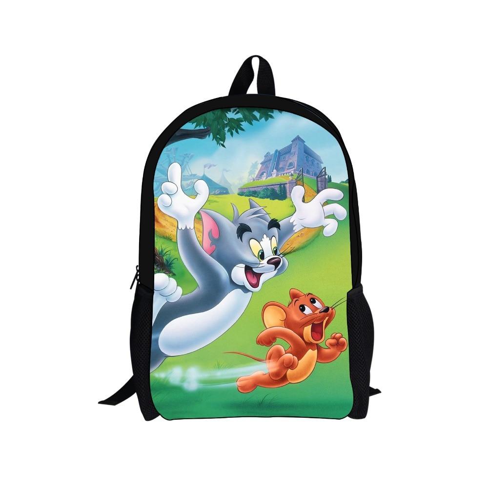 Рюкзаки том и джерри детские рюкзаки для похода для самых маленьких