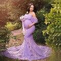 Кружевное платье для беременных с рыбий хвостом; платья для фотосессии для беременных; реквизит для фотосессии; Vestidos; Одежда для беременных