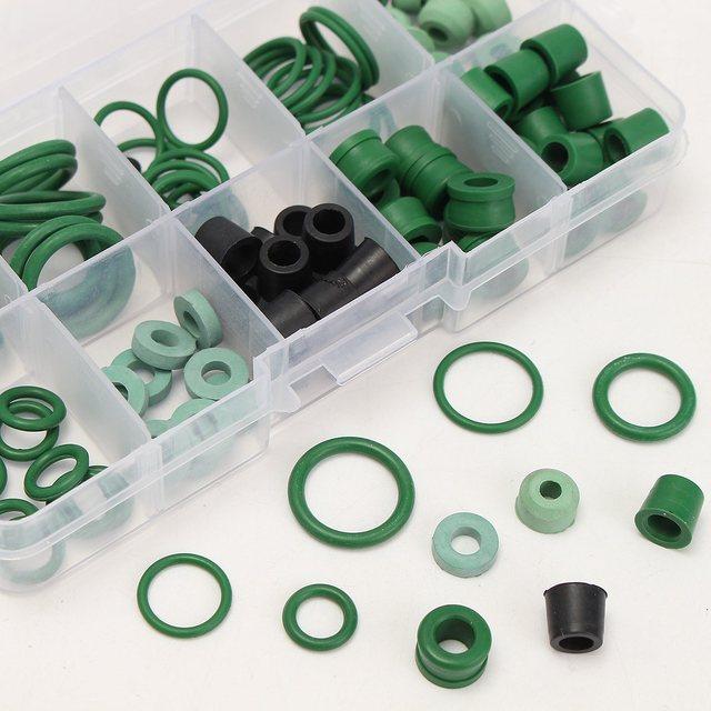 MTGATHER 110PCS Refrigeration Hose Gaskets O Ring Repair Kit 8 ...