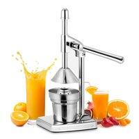 Orange Juicer Manual Juice Squeezer Stainless Steel Citrus Press Tools Lemon Lime Citrus Juicers Kitchen Fruit Pressing Machine