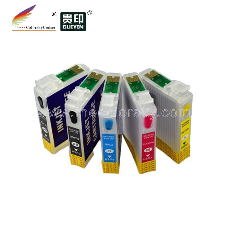 (RCE691-691-694) 4sets refillable refill inkjet cartridge for Epson 69 stylus NX305 NX400 NX115 NX215 NX415 NX510 NX515 free dhl