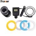 Travor RF-550D Macro 48pcs LED Ring Flash Light For most Nikon Canon Pentax Olympus Panasonic Sigma Camera