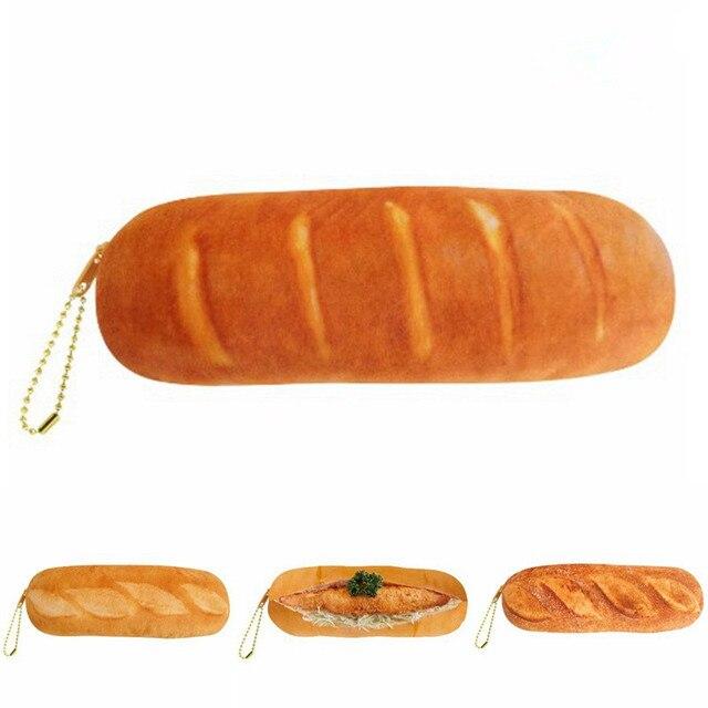 Хлеб estuches lapices escolares Творческие пеналы мода estuches школы девушка pencilcase мешок ручки коробки школьные инструменты