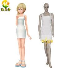 Anime Cosplay Kingdom Hearts 2 Namine Cosplay venta trajes de halloween ropa de fiesta de noche Por Encargo de Cosplay de Las Mujeres