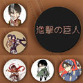 Youpop Attack on Titan Anime Brooch Pin Badge Accessories For Clothes Hat Backpack Decoration Men and Women Boy Girl HZ1400