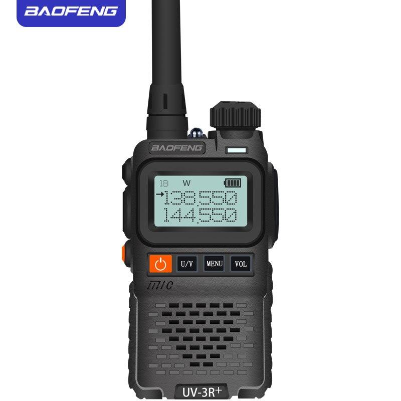 Image 5 - Baofeng UV 3R+ Mini Radio Kid Walkie Talkie UV 3R  Dual Band VHF UHF Portable Two Way Radio Ham Hf Transceiver UV 3R Woki Toki-in Walkie Talkie from Cellphones & Telecommunications
