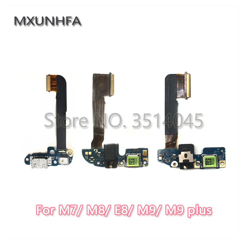 USB Micro Charger Charging Port Dock Connector Microphone Board Flex Cable For HTC One M7 M8 E8 M9 Plus M9+