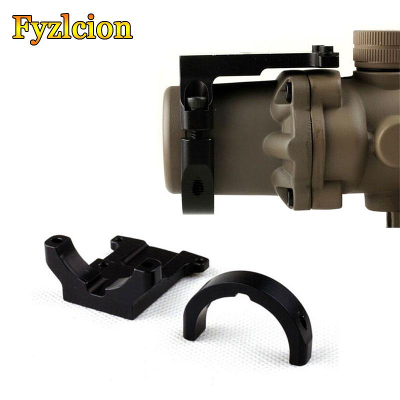 Tactical Accessories ACOG Ruggedized Miniature RMR Red Dot Reflex Sight Mount Base