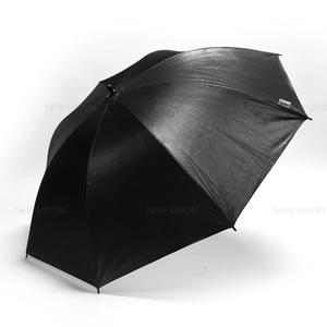 "Image 3 - Godox 40"" 102cm Reflector Umbrella Photo Studio Flash Light Grained Black Silver Umbrella"