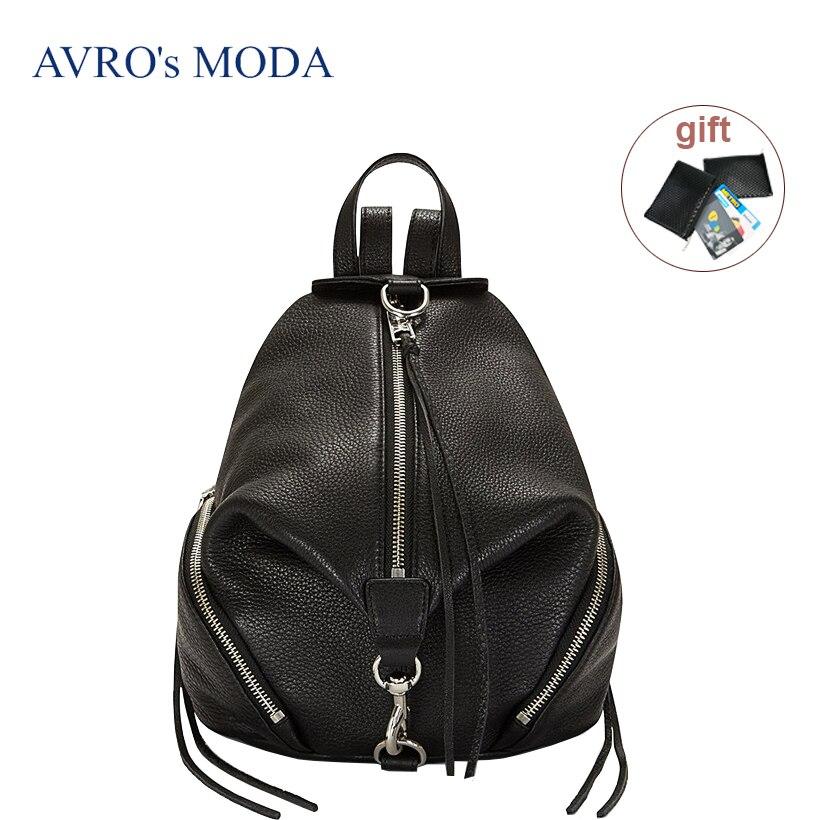 Sac à dos hobo en cuir véritable de marque MODA d'avro pour femmes 2019 sacs de luxe designer dames sacs à bandoulière de grande capacité