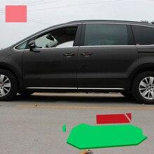 Lsrtw2017 Тюнинг автомобилей кузова планки для Volkswagen Sharan 2011 2012 2013 2014 2015 2016 2017 2018 Seat Alhambra
