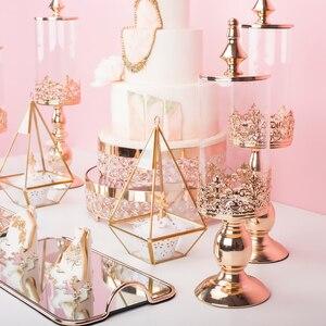 Image 4 - Sucrier décoration de table à dessert de mariage, sucrier en verre, bocal à bonbons, réservoir de stockage de bonbons à biscuits