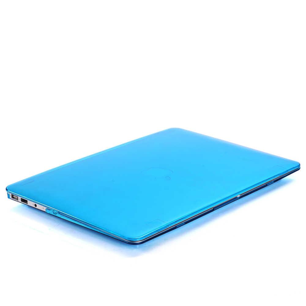 Para Macbook Air 13 Pro Retina, 12 13 15 DE CRISTAL caso para Macbook nuevo Pro 13 15 con Touch Bar caso para Macbook cubierta dura