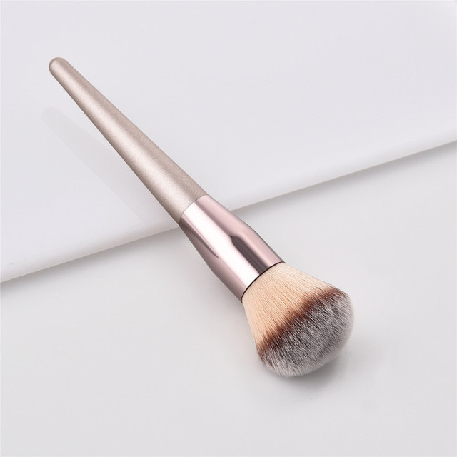 10pcs Makeup Brushes Set professional Foundation Powder Eyeshadow Blending Eyebrow kabuki cosmetic brush Tool 6