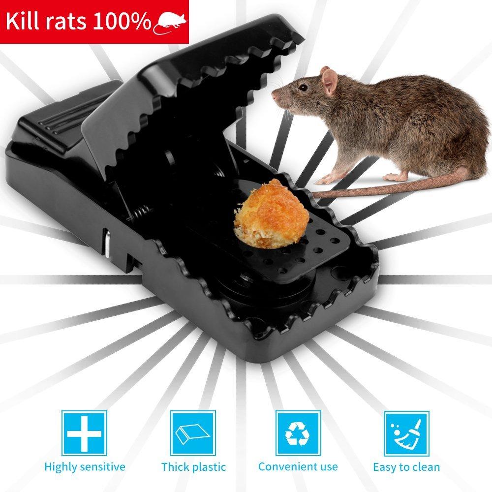 Reusable Mouse Trap Mousetrap Mice Trap Rodent Catching Rat Killer Trap  Mouse Bait Snap Hamster Trap Catcher Pest Control