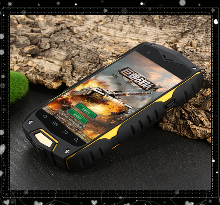 Outdoor LetterHung V11 IP68 waterproof shockproof MTK6582 mobile phone Android 5 0 4 0 IPS LetterHung