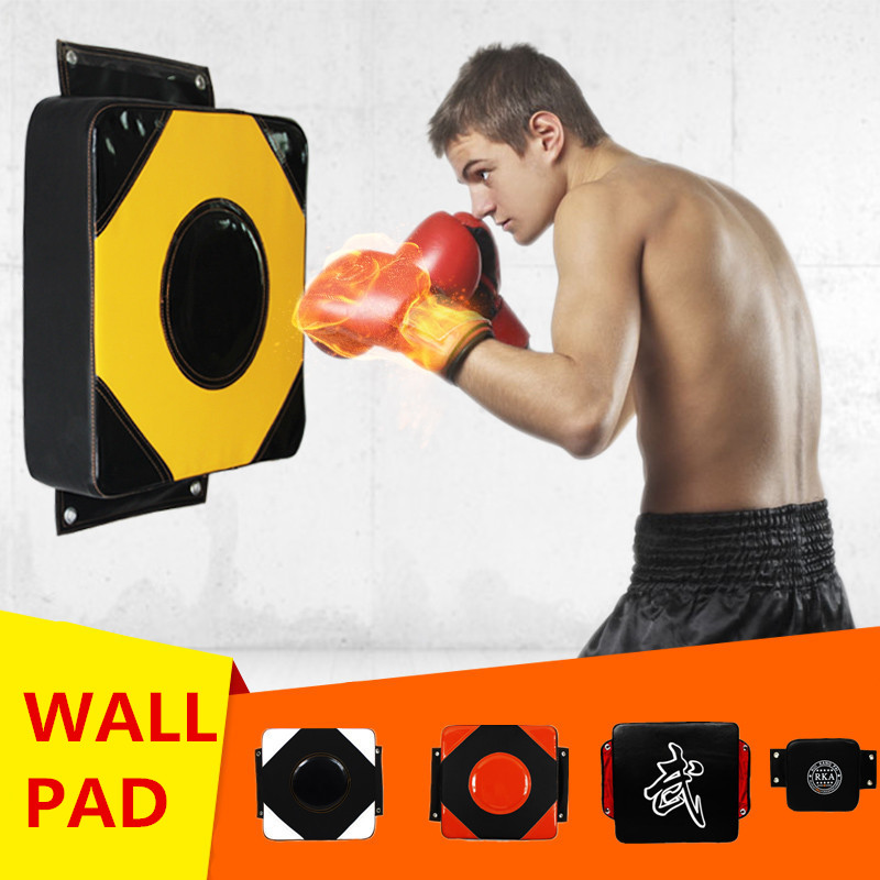 PU Wall Punch Boxing Bags Muay Thai Pad Focus Target Pad Boxing Fight Sanda Taekowndo Training Bag Sandbag Category Freeshipping ...
