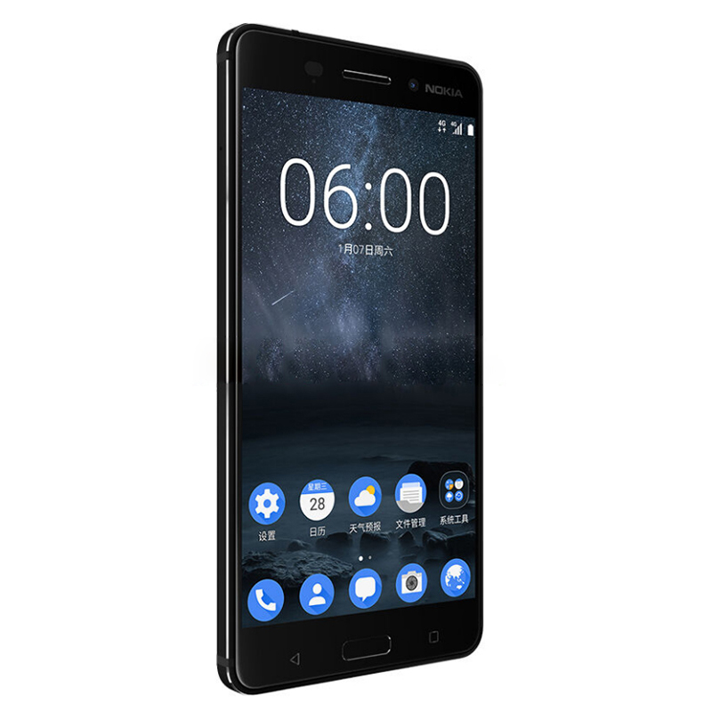 nokia 4g phones. 2017 original nokia 6 4g lte mobile phone android 7.0 octa core 5.5\ 4g phones i