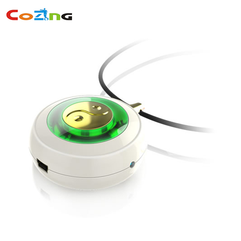 Factory supply home care coronary heart diseases treatment medical device with 650nm low level cold laser therapy necklace home healthy coronary heart disease electronic pulse laser therapy massager